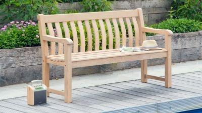 3-Sitzer Gartenbänke
