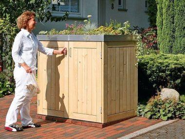 Binto Müllbox Nadelholz