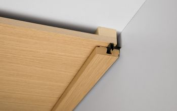Vierkant-Deckenabschlußleiste