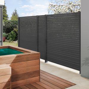 holz world der shop f r gesundes wohnen mit holz traumgarten system rhombus sichtschutzzaun. Black Bedroom Furniture Sets. Home Design Ideas