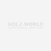 Binto Mülltonnenbox Premium Hartholz Bangkirai 1er-Box mit Klappdeckel